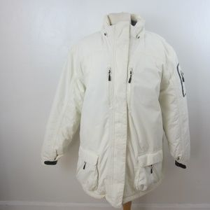 Womens XL Lands' End Squall 3in1 Goose Down Jacket
